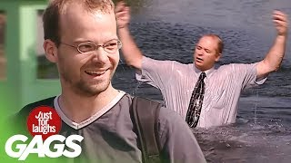 Dumping People Into Lakes PRANKS   - Throwback Thursday