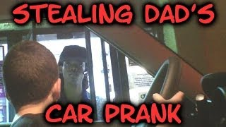 Kids Stealing Car Drive Thru Prank