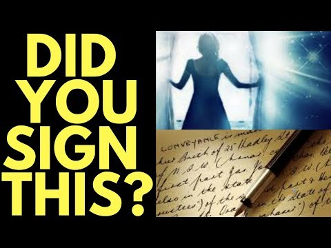 3 Soul Contracts You Signed Before You Were Born (You Forgot This)