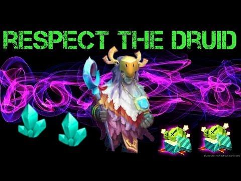 Castle Clash Respect The Druid!