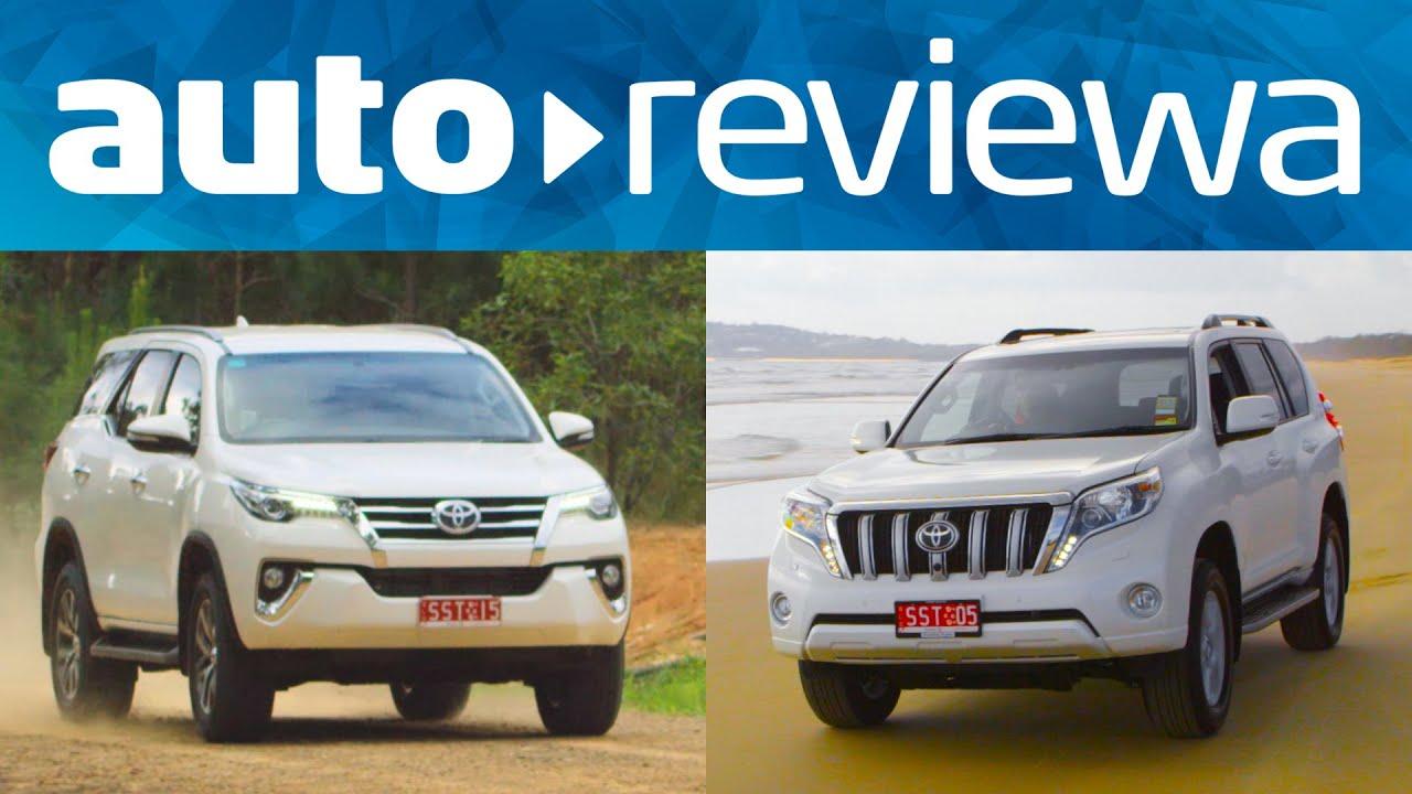 2016 Toyota Prado vs 2016 Toyota Fortuner Comparison - Australia