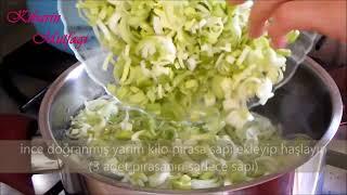 Fırında pırasa böreği tarifi - Fırında pırasa yemeği nasıl yapılır - Yemek tarifleri