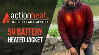 ActionHeat Battery Heated Jacket - ActionHeat Heated Clothing
