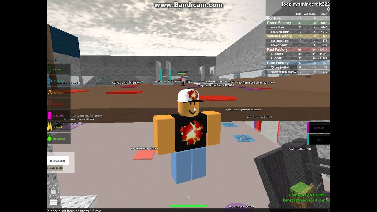 Roblox 2 Player Gun Factory Tycoon Helloween - Year of Clean