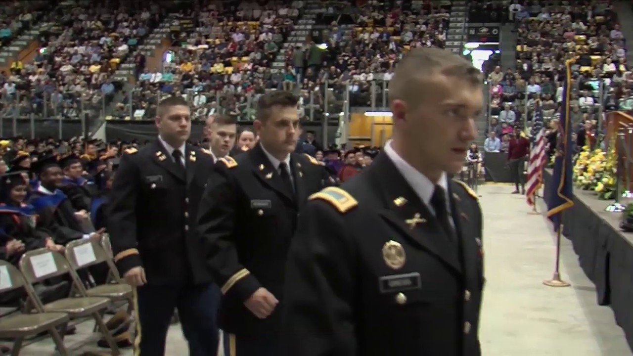 Preview image for Spring 2019 - ROTC Commissioning video