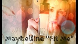 "Maybelline ""Fit Me"" Foundation Thumbnail"