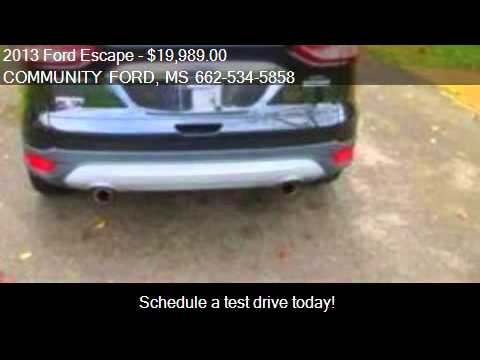 2013 ford escape sel 4dr suv for sale in new albany ms 3865 youtube. Black Bedroom Furniture Sets. Home Design Ideas