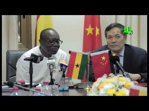Ghana, China sign cooperation agreement