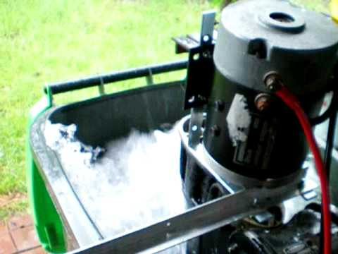 Gas to electric outboard demo 02 funnycat tv for Electric outboard motor conversion