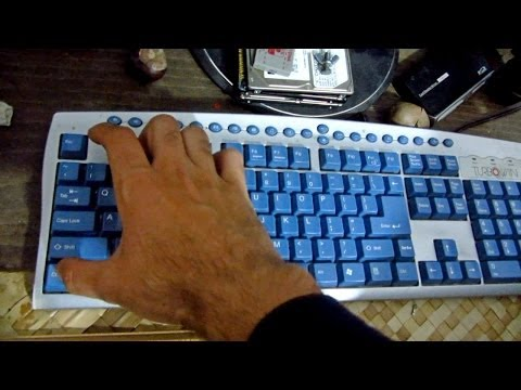 How to Power On a PC from the Keyboard (ASUS P5K motherboard)
