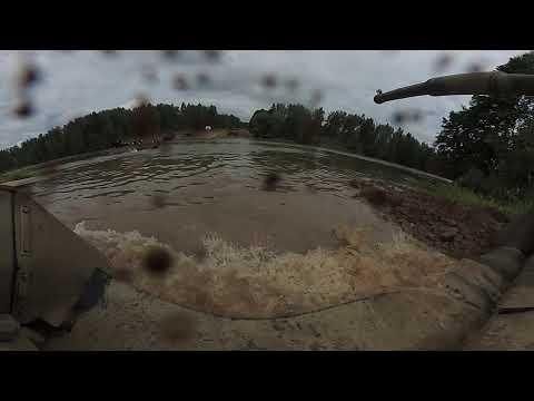 Вождение танка Т-80У