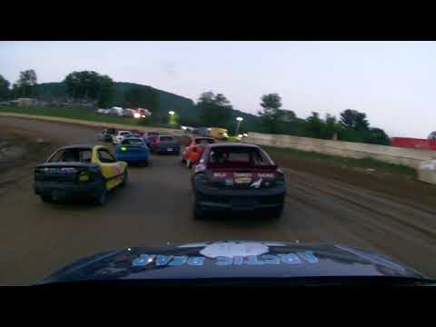 Five Mile Point Speedway - 7-15-18 Four Cylinder Race #K9 Fantasic 5
