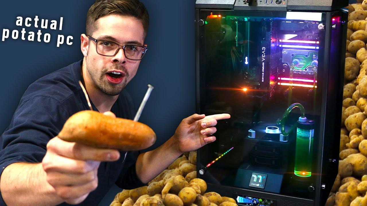 I Built a Potato Powered Computer