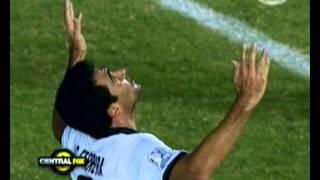 Salgueiro y sus dos goles contra Fluminense copa libertadores