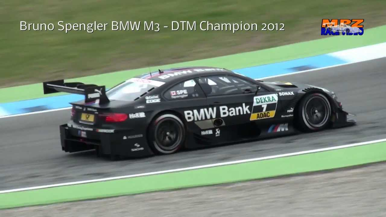 Bruno Spengler BMW M3 - DTM Champion 2012 - YouTube