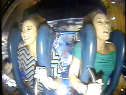 Two Drunk Girls Ride The Slingshot 9 TIMES !!!