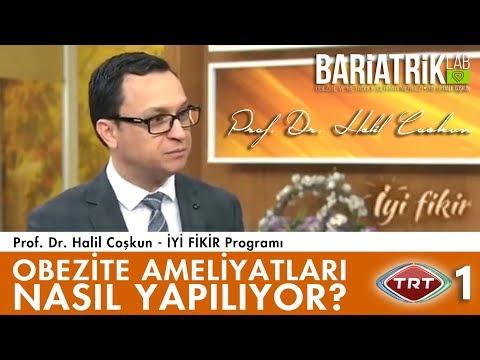 Obezite Ameliyatları Hakkında Bilgilendirme / TRT 1 / Prof. Dr. Halil Coşkun