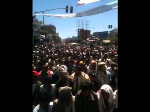 Yemen protests Sana'a university 25.2.11