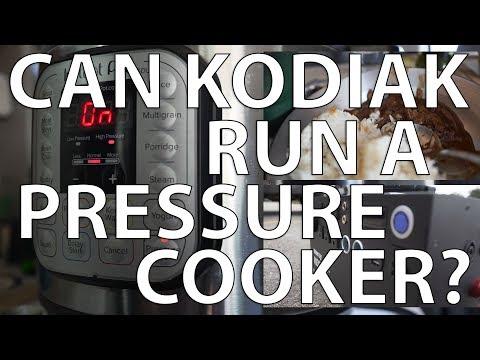Instant Pot Cooking with Kodiak Solar Generator #vanlife