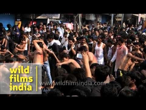 Muslims participate in Muharram procession - India
