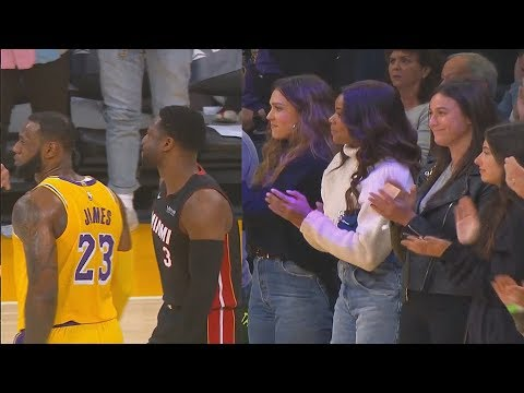 The Penthouse Blog - Dwyane Wade Gets A Standing Ovation In LA at the Heat vs. Lakers Game