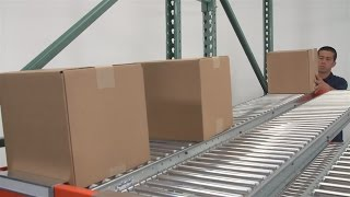 Span Track Carton & Gravity Flow
