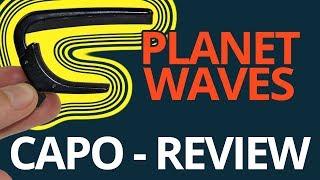 Kapodaster Planet Waves NS im Test | Der kleine Capo ganz groß