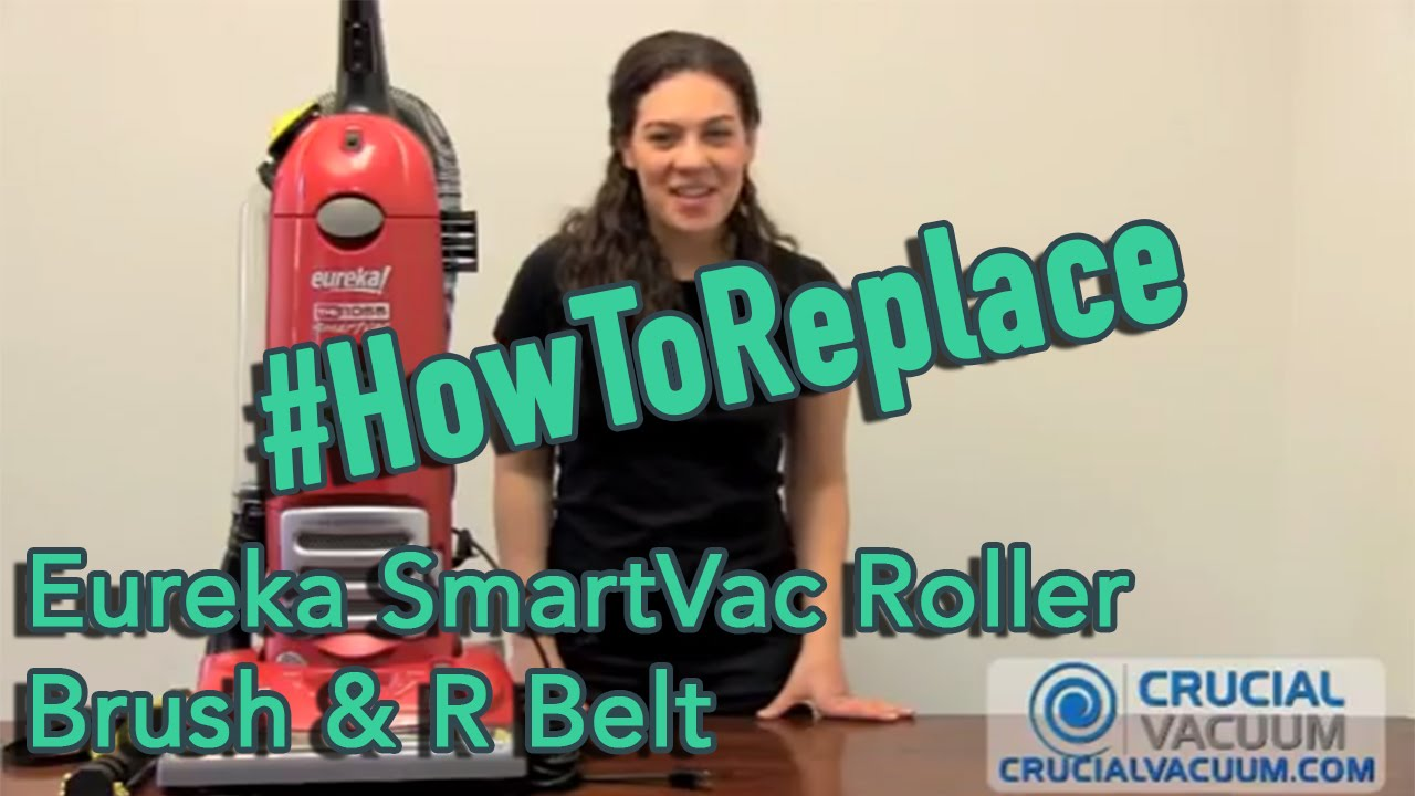 Eureka Smartvac Roller Brush R Belt Replacement Part 61250 1 61250 3 61110 61110b Youtube