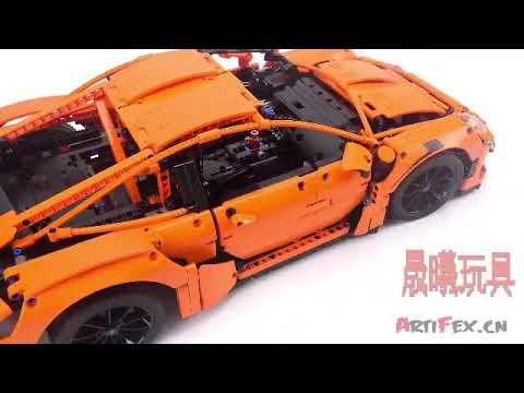 Technic Porsche 911 GT3 RS 42056 Compatible 20001 REVIEW