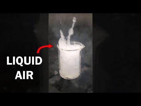 Making liquid air