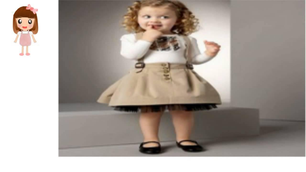 3c4077dd8 فساتين اطفال قصيره منفوشه - YouTube