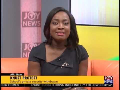 KNUST Protest - AM Talk on JoyNews (23-10-18)