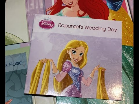 Disney Princess Enchanting Story time RAPUNZEL and SNOW WHITE!! Read along 樂佩公主 Blancanieves