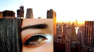 Sunrise in New York makeup•Макияж