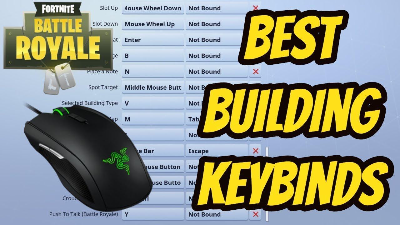 Fortnite Best Building Select Key Fortnite Keybinds