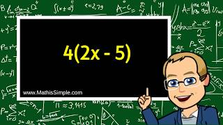 Simplifying Expressions using Dİstributive Property | Expression & Equations | Grade 6