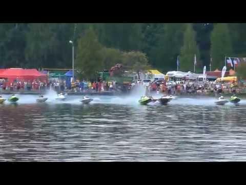 Motorlaivu sacensības 2014. Alūksnes ezers