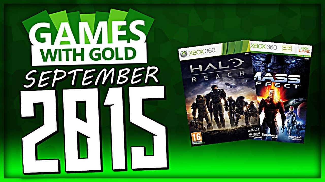 Games With Gold September 2015 Free Xbox Live Games
