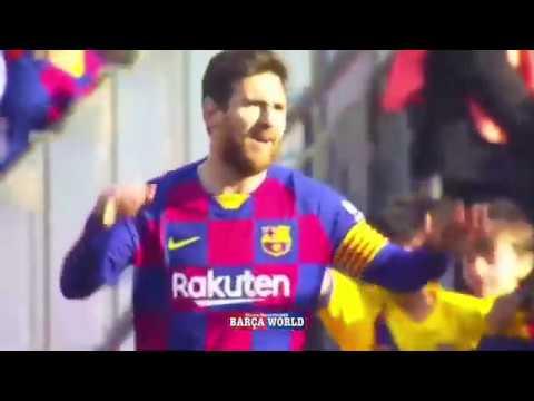 Messi First Half Hat Trick Vs Eibar 3 0 Youtube