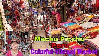 EXCITING EXPERIENCE AT MACHU PICCHU MARKET, PERU