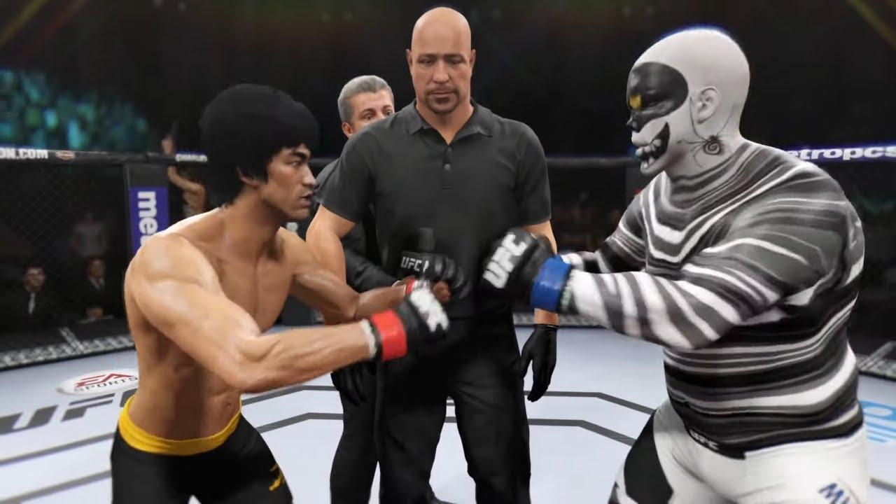 Bruce Lee vs. Mummy Murray (EA sports UFC 2)