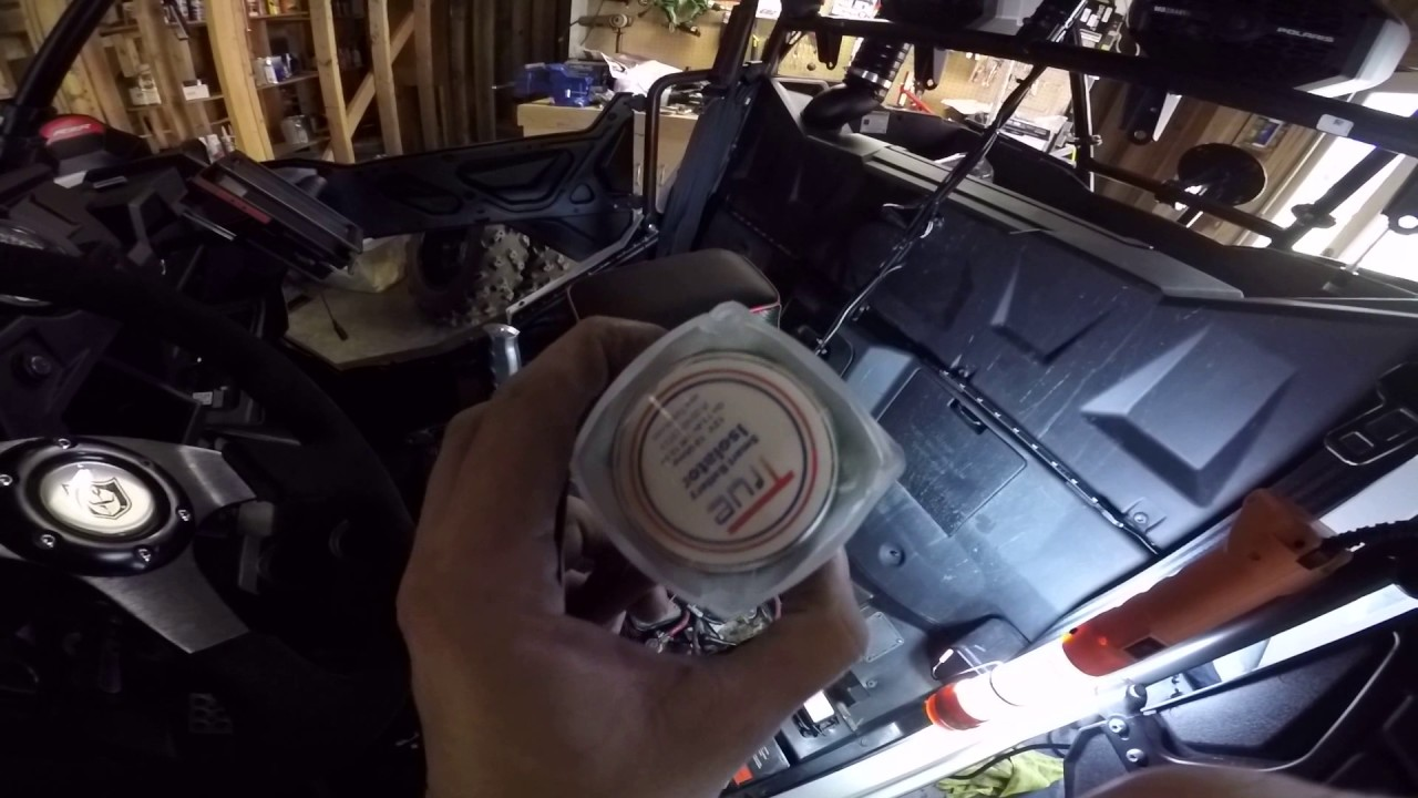 hight resolution of occam s utvs install second battery using true amalgamated isolator on my polaris rzr 900