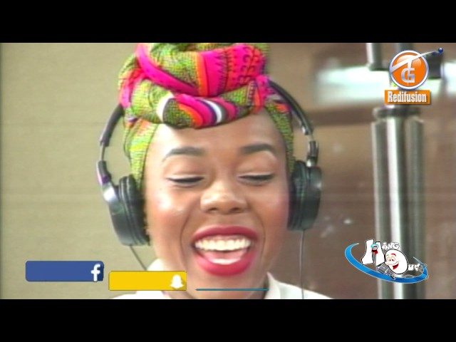 Darline Desca jamin' live on the HangOut with Mike on da Mic