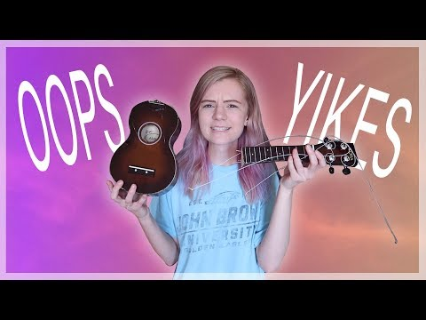 I BROKE MY UKULELE :(