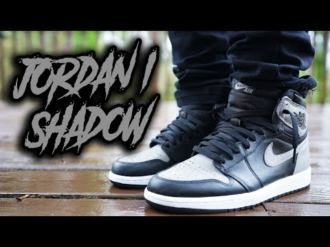 19f4720f36c COP OR NOT ?! AIR JORDAN 1 SHADOW 2018 REVIEW AND ON FEET - YouTube