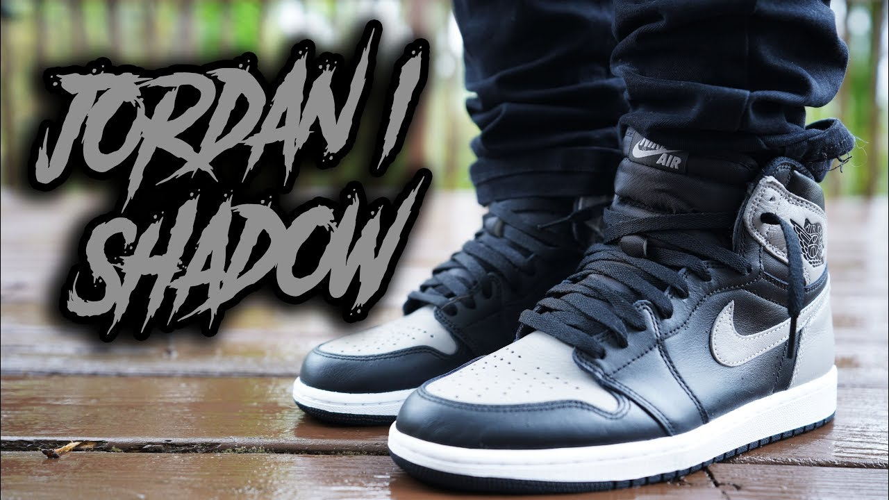 COP OR NOT  ! AIR JORDAN 1 SHADOW 2018 REVIEW AND ON FEET - YouTube 130e02d910