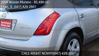 2004 nissan murano sl awd 4dr suv for ...