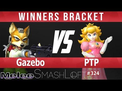 SL Melee #324 - Gazebo (Fox) vs PTP (Peach) - Winners Bracket