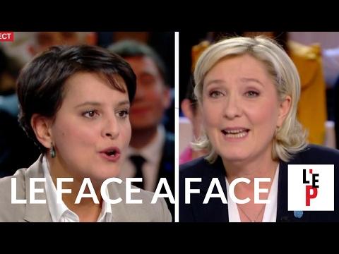 Face-à-face Marine Le Pen / Najat Vallaud-Belkacem - L'Emission politique (France 2)