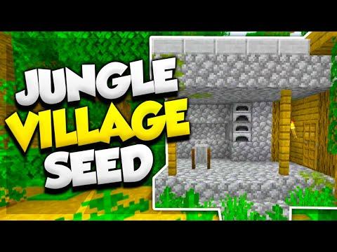 jungle-village-at-spawn!-(minecraft-village-seed)